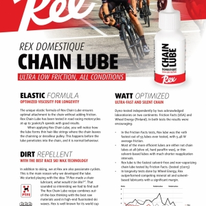 Rex Bicycle products all combined 2020-3